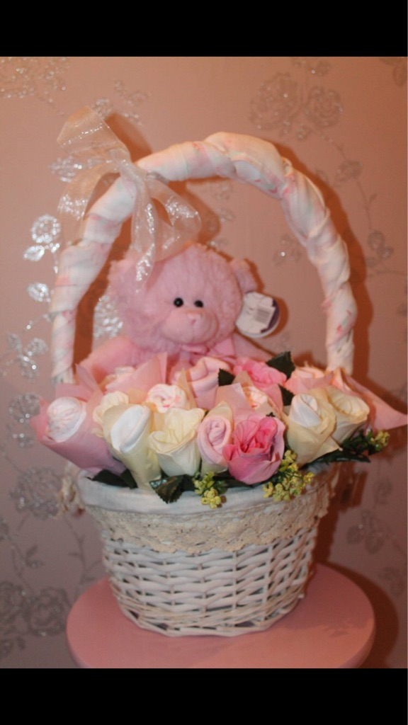 Baby Boy Baby Girl Basket/Bouquets