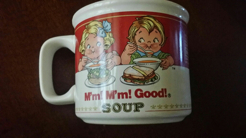 Campbell soup collectible cup