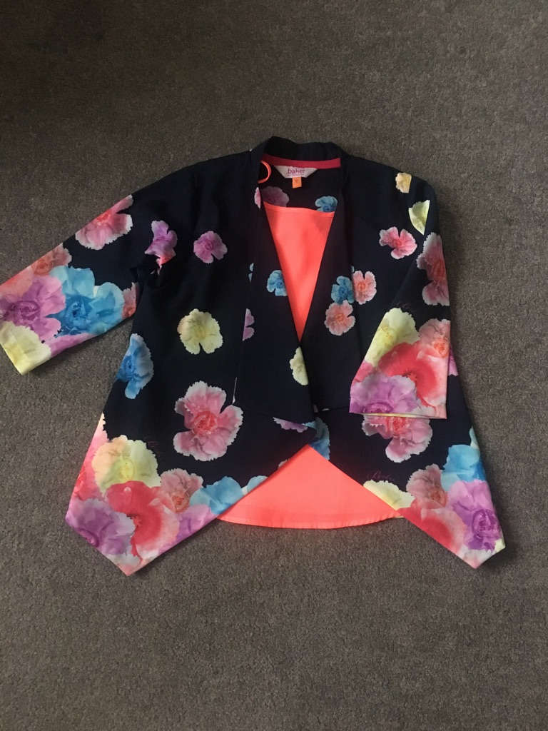 Girls Ted Baker blazer and top age 5