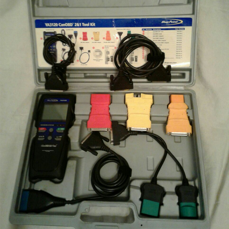 Snap-On Blue Point CanOBD 2&1 Tool Kit