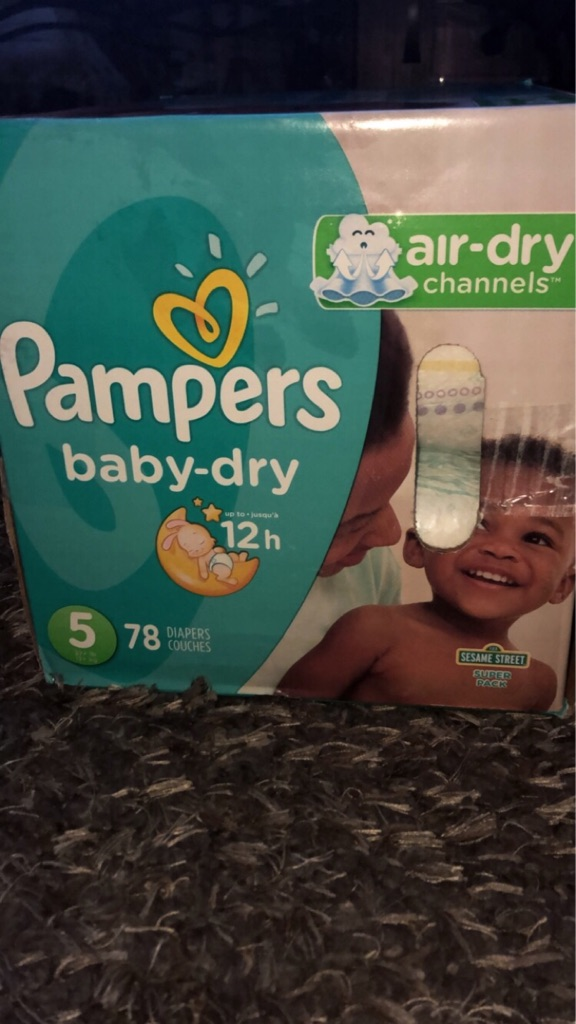 PAMPERS BABYDRY SZ.5 COUNT 78