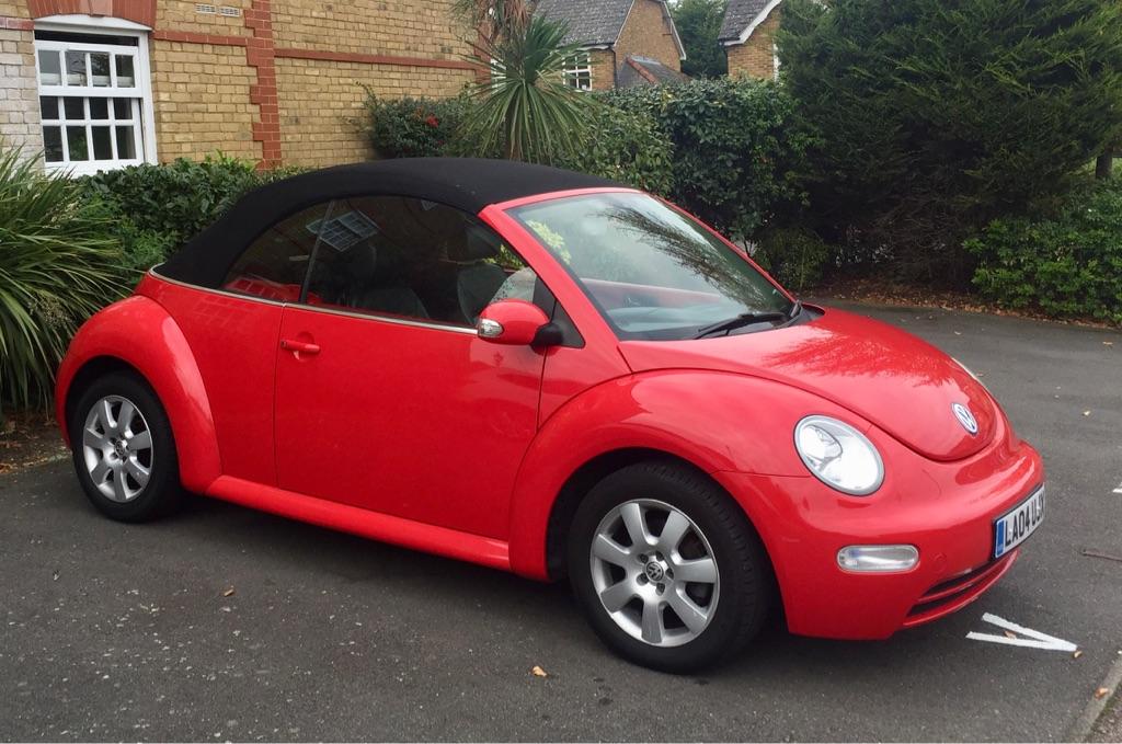 Volkswagen Beetle 2.0 Cabriolet 2dr