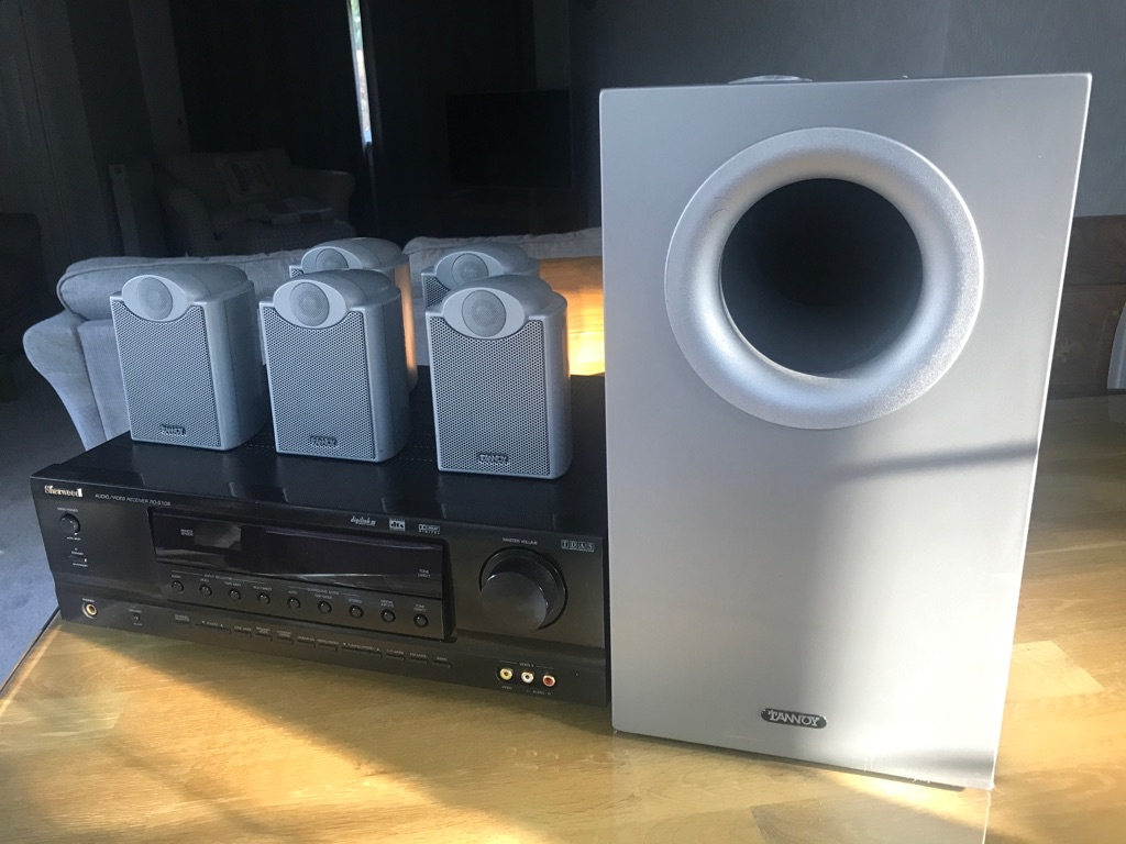 Sherwood receiver and Tannoy surround sound system