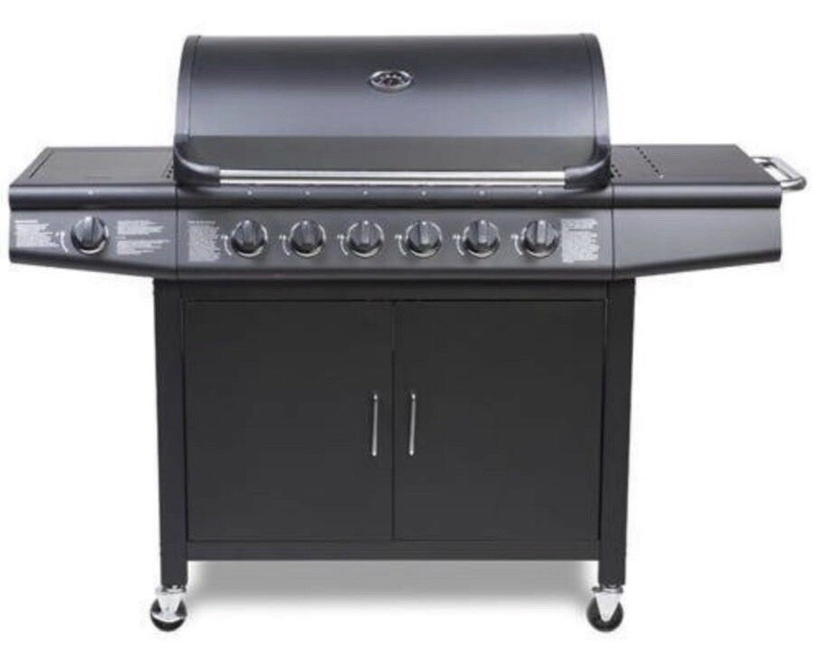 Brand new CosmoGrill™ 6+1 DELUXE Gas Burner (in original package)