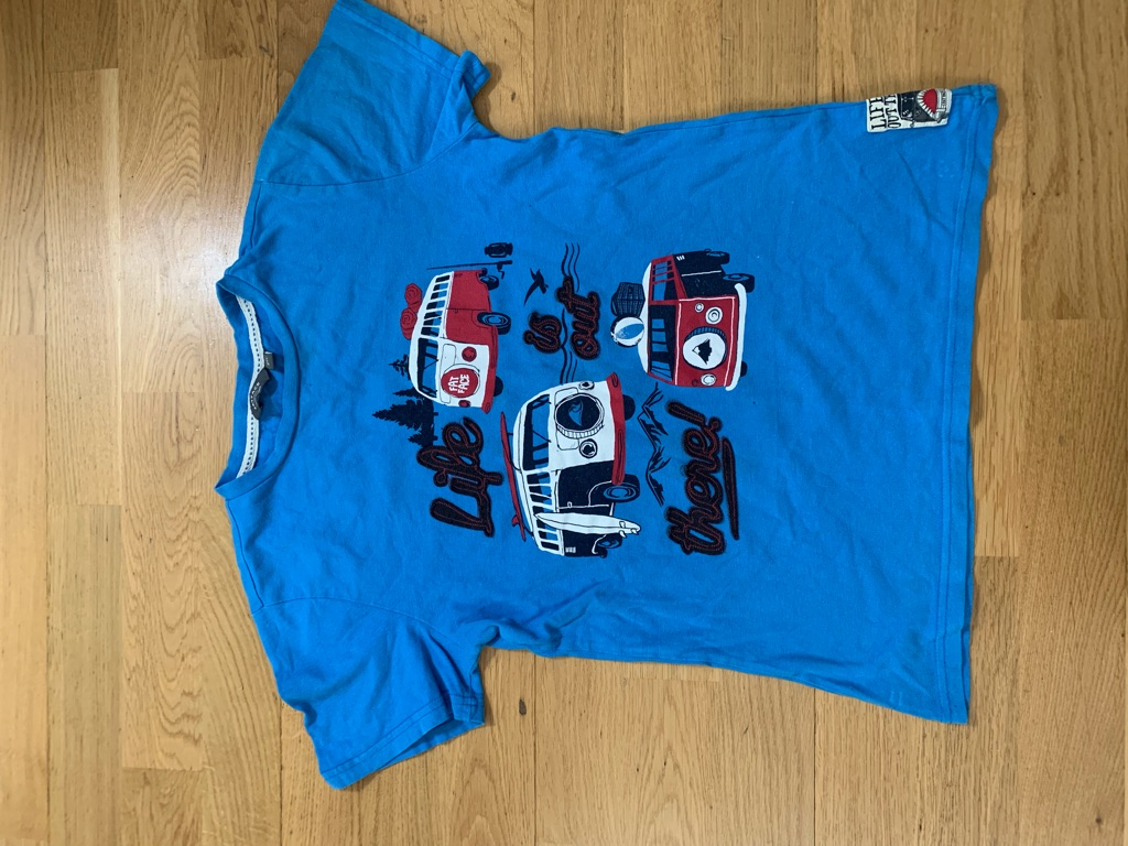 4 Fatface t shirts age 10-11
