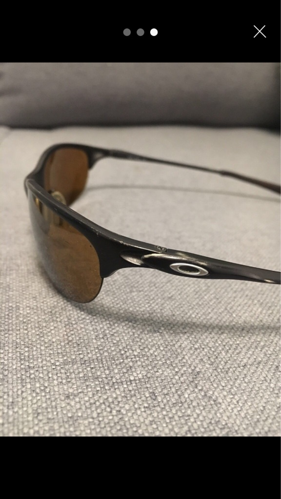 Genuine Oakley Half Wire Titanium