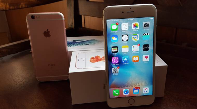 iPhone 6s+ rose gold 64gb
