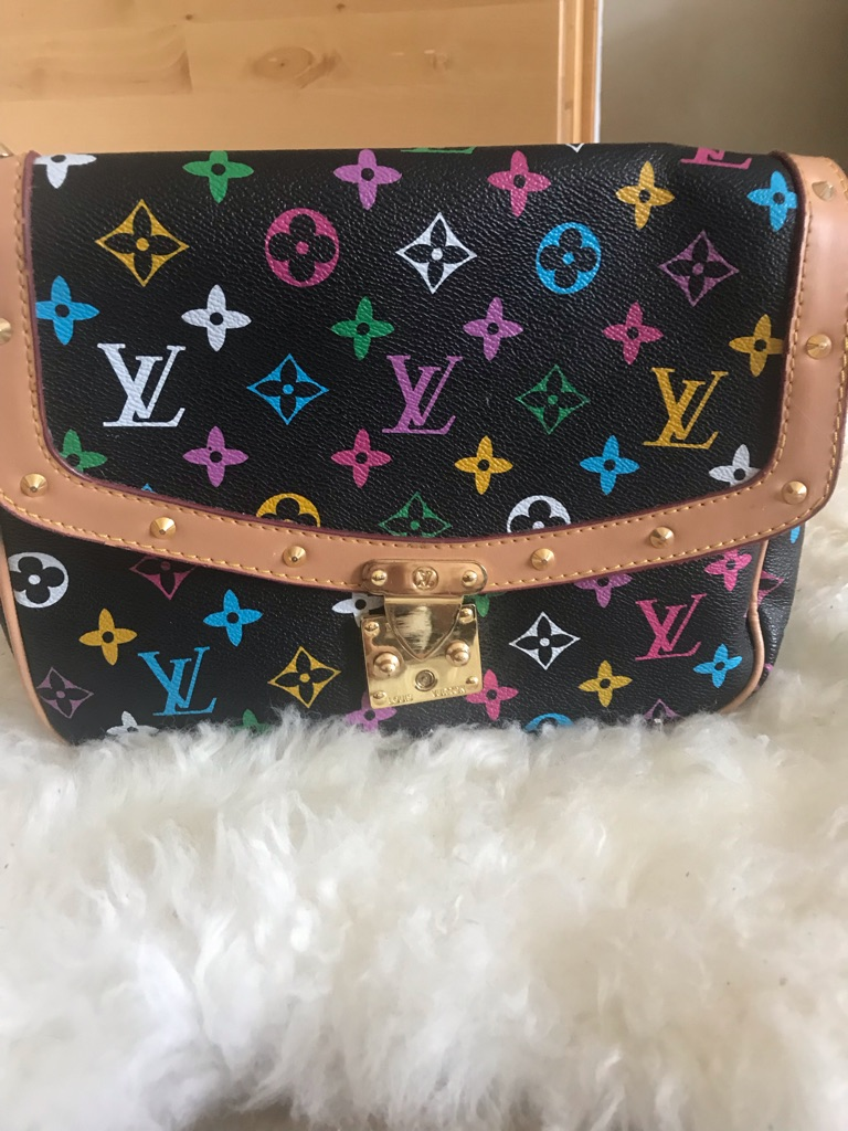 Multicoloured handbag
