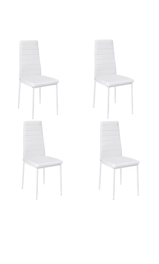 Dinning chairs set of 4! Brand new in box!