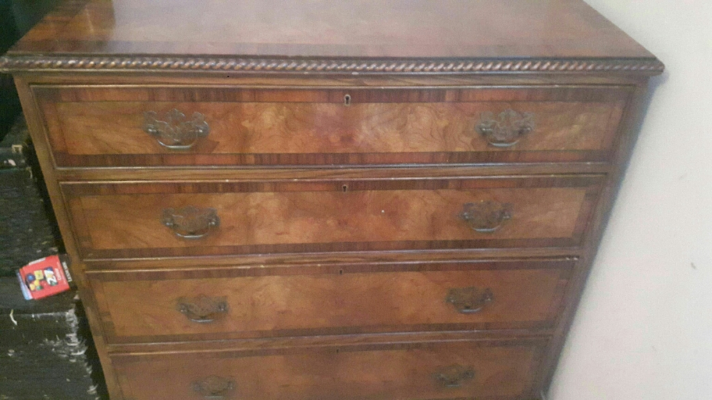 Handmade 4 Drawer chest