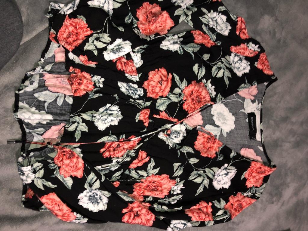 Mink Pink floral shirt