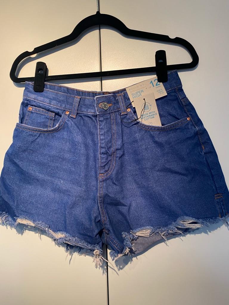 Primark Size 12 Denim Shorts
