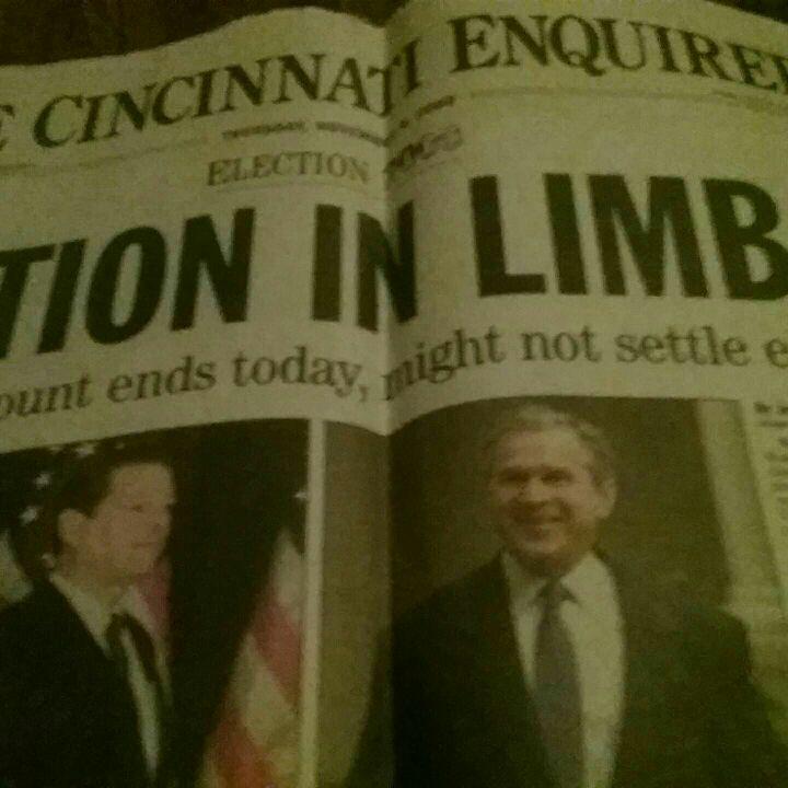 Bush newspaper