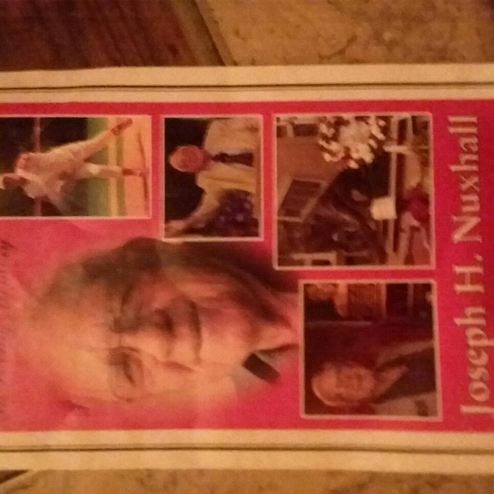 Joe Nuxhall memorial service day paper