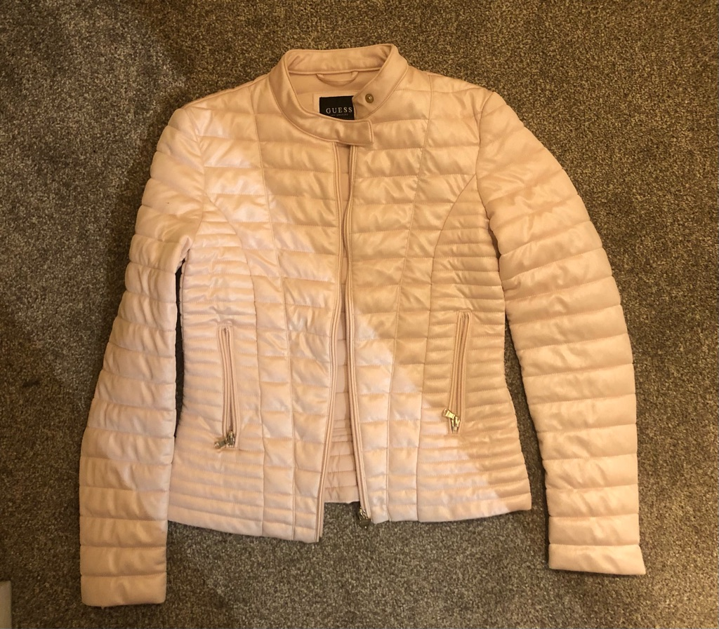 Guess jacket, pink, size S