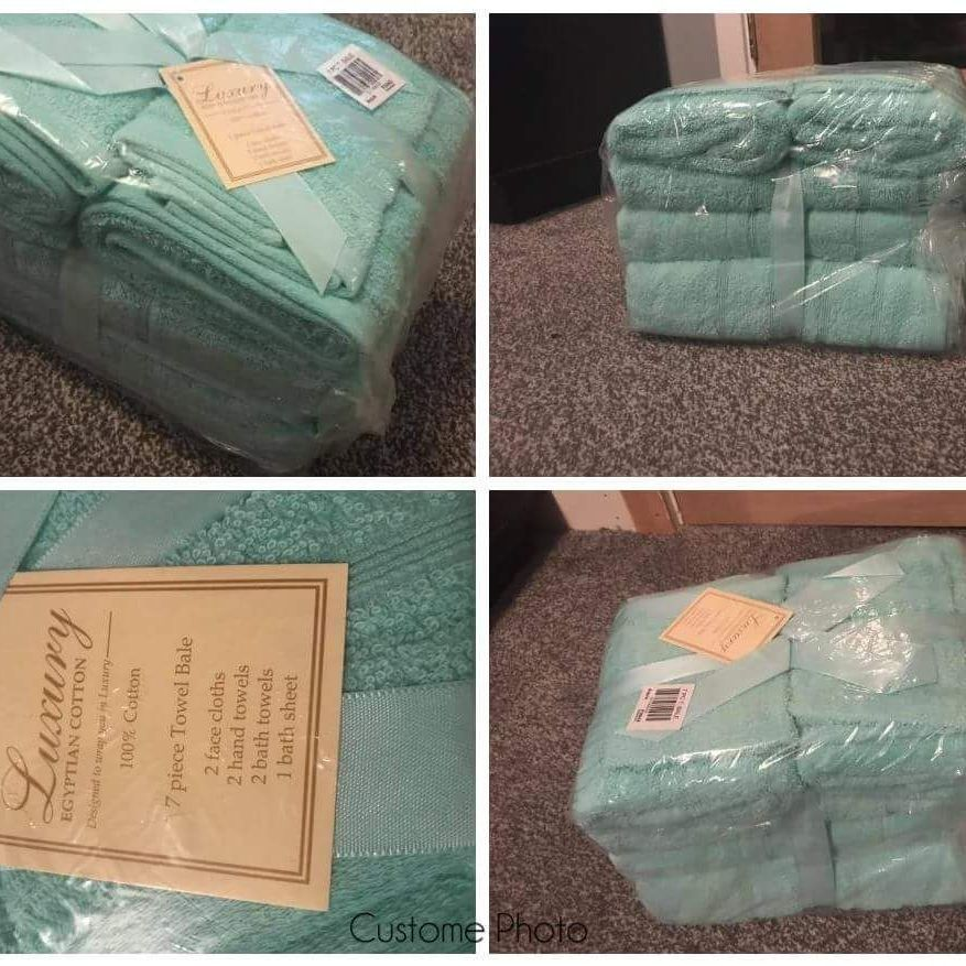 Luxury Cotton Towel Bale.