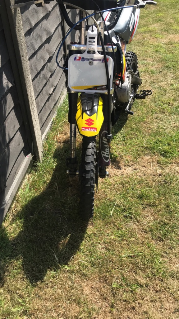 Welsh Pit bike 125cc 4 stroke