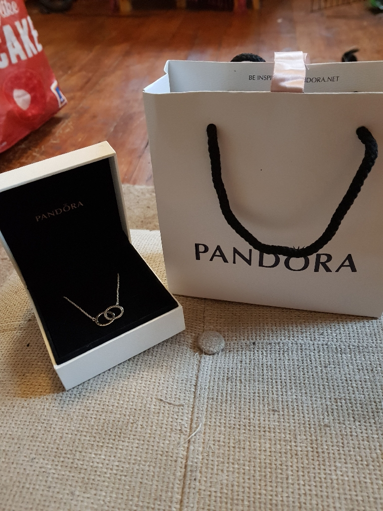 Pandora necklace never worn or taken out box