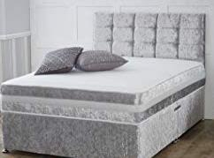 Bed, mattress, & headboard