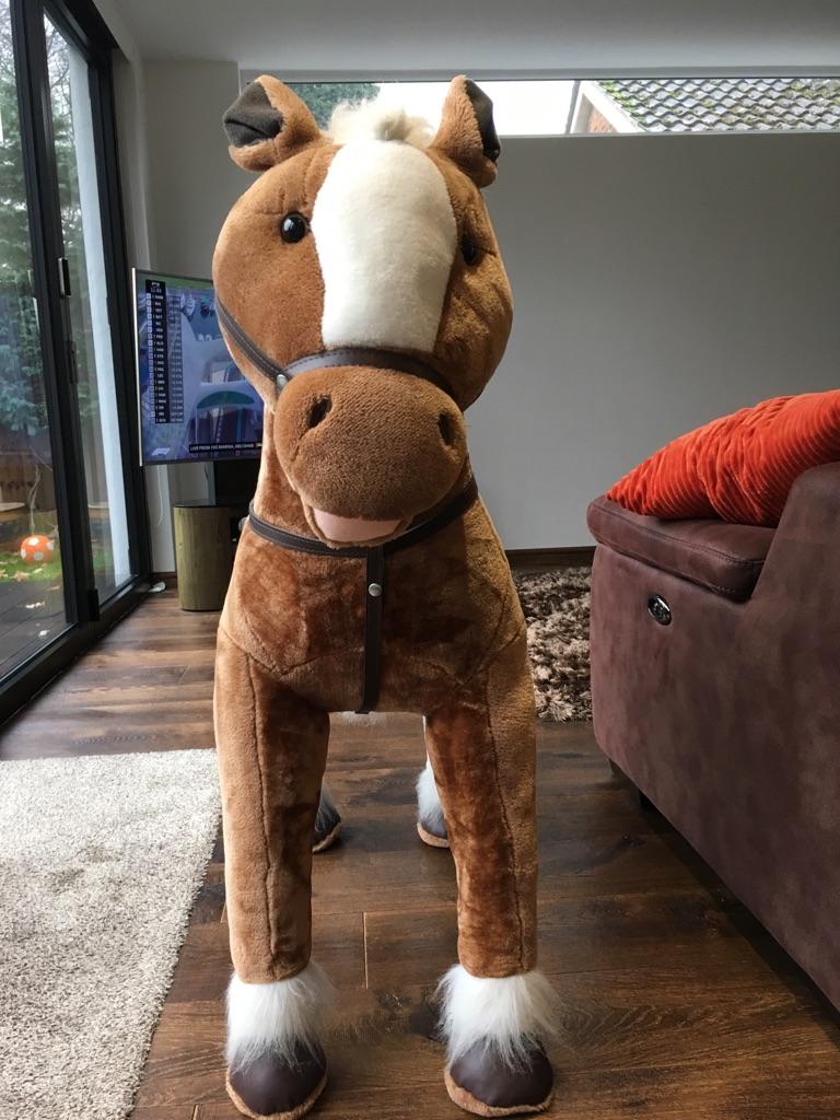 Child's sit on horse