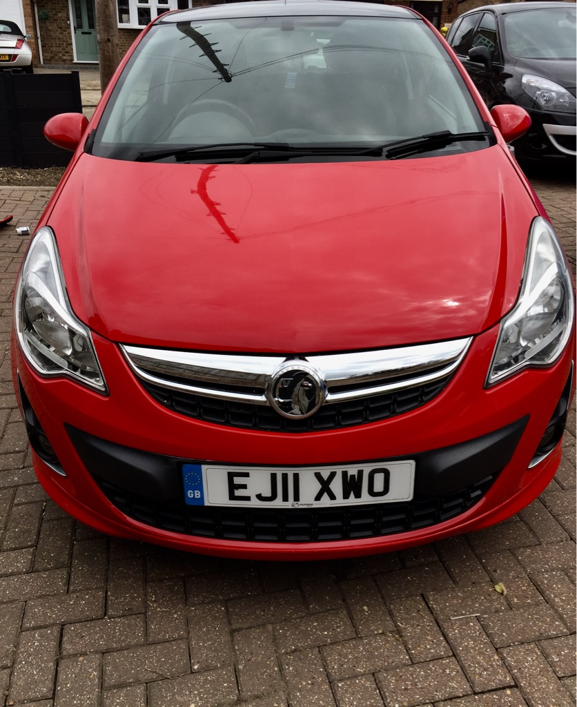 2011 Vauxhall Corsa Limited Edition 1.2L