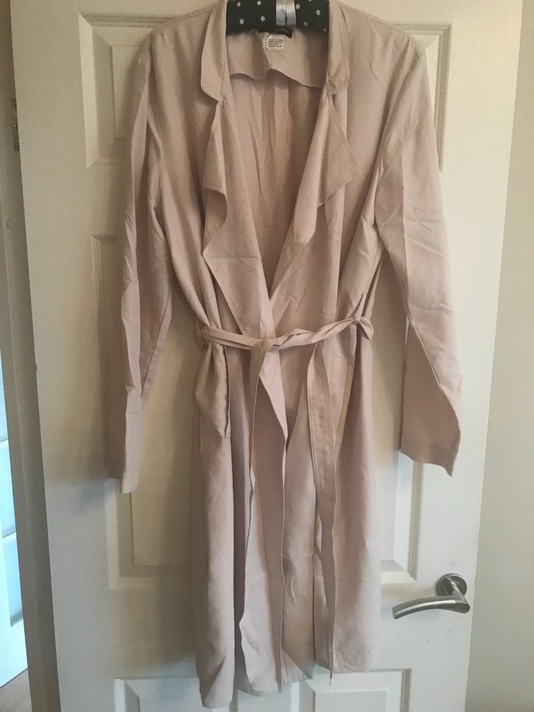 American Apparel lightweight coat Size M/L