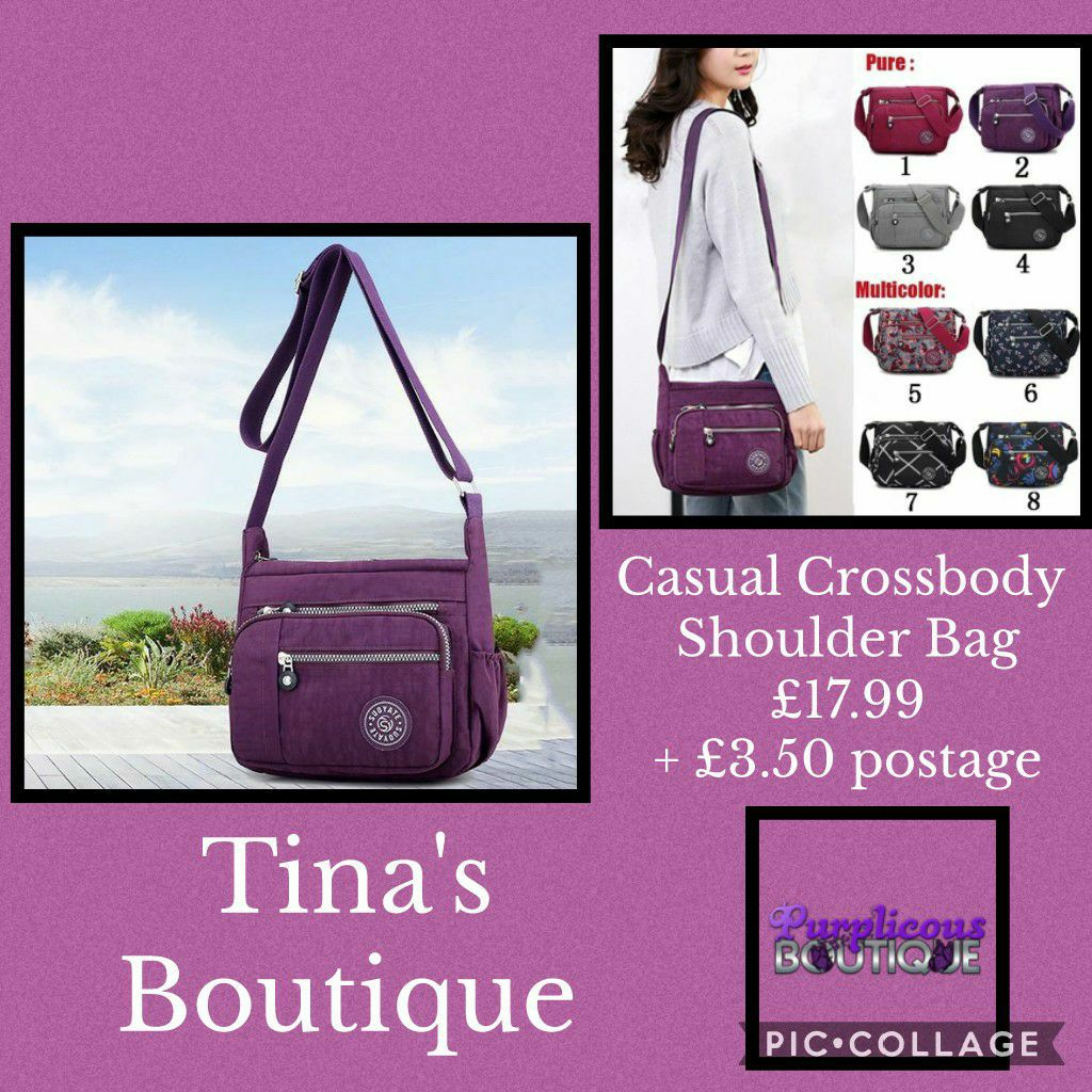 Casual Crossbody Shoulder Bag