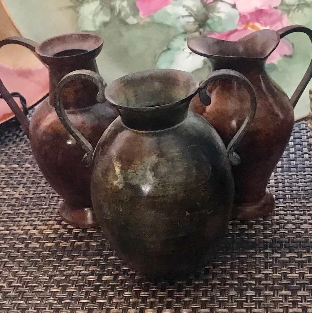 3 Minnie Vintage Decorative Jars