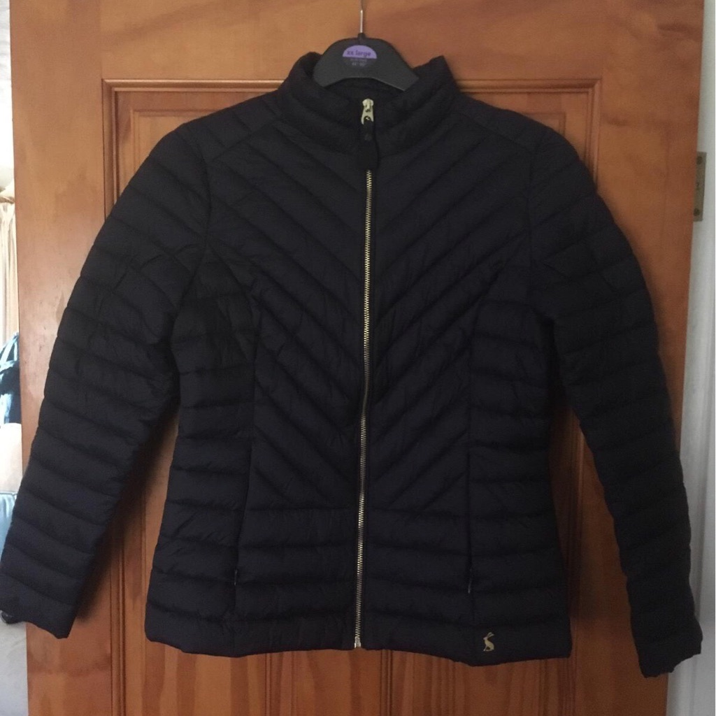 Joules Navy Light Padded Coat Size 12