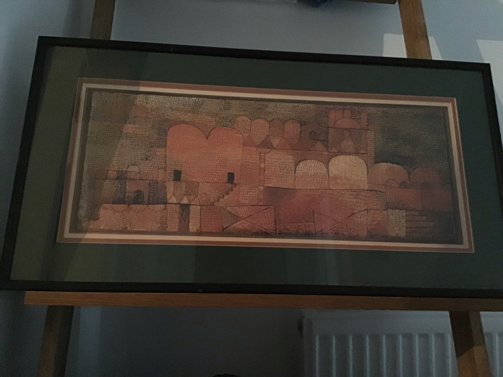 Framed Print of Oriental Cathedral by Paul Klee 1932