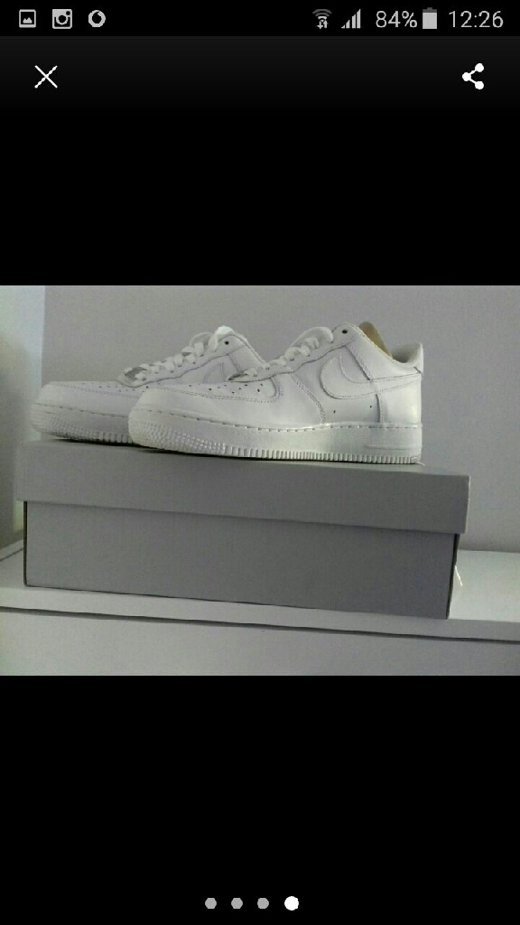 Nike Air Force 1 Size 7 limited edition