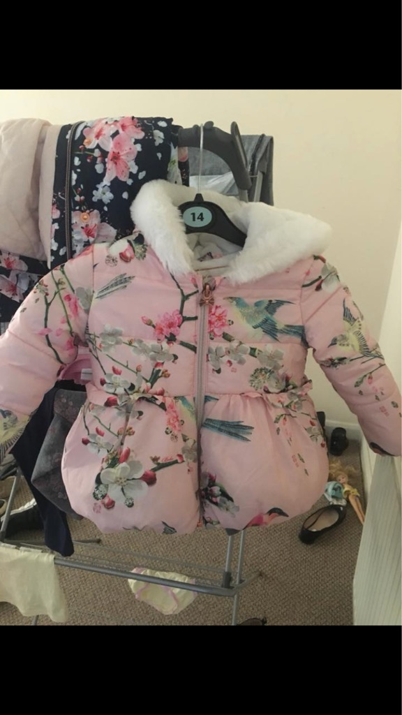 Ted Baker Coat & Mittens