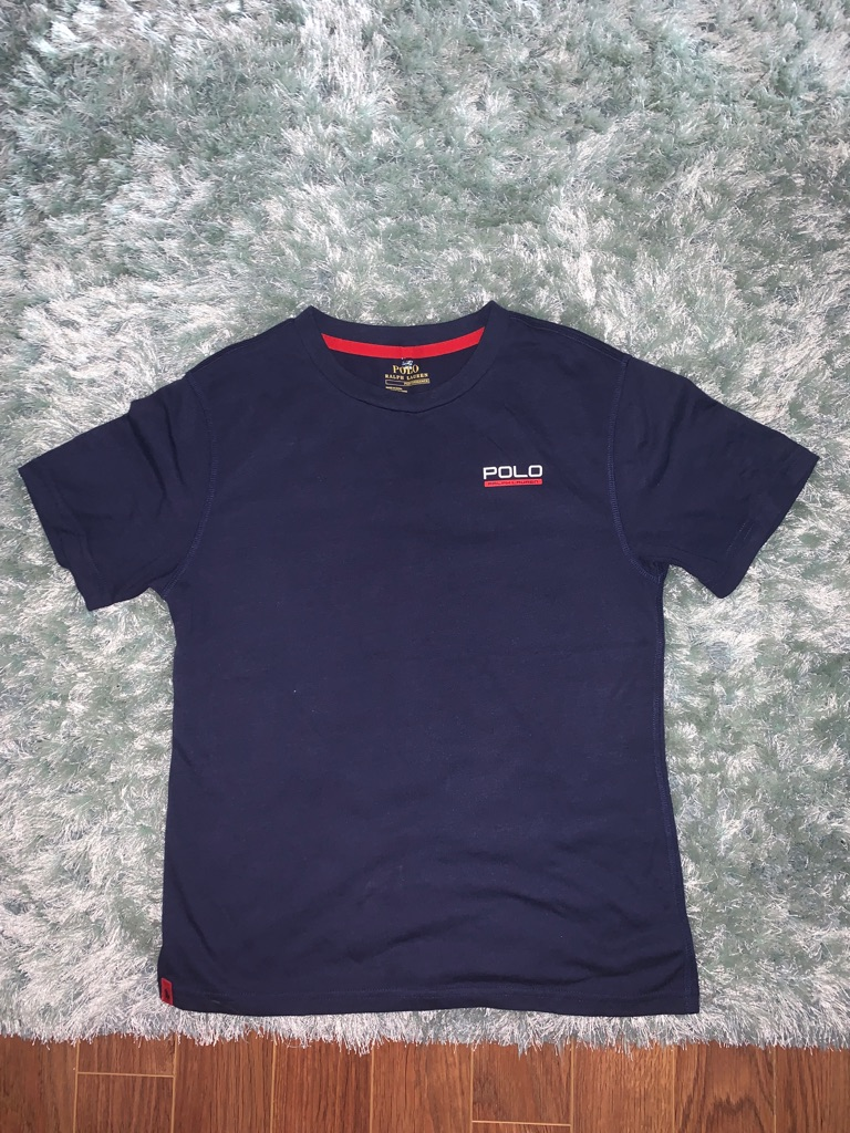 Boys Ralph Lauren polo and t-shirt
