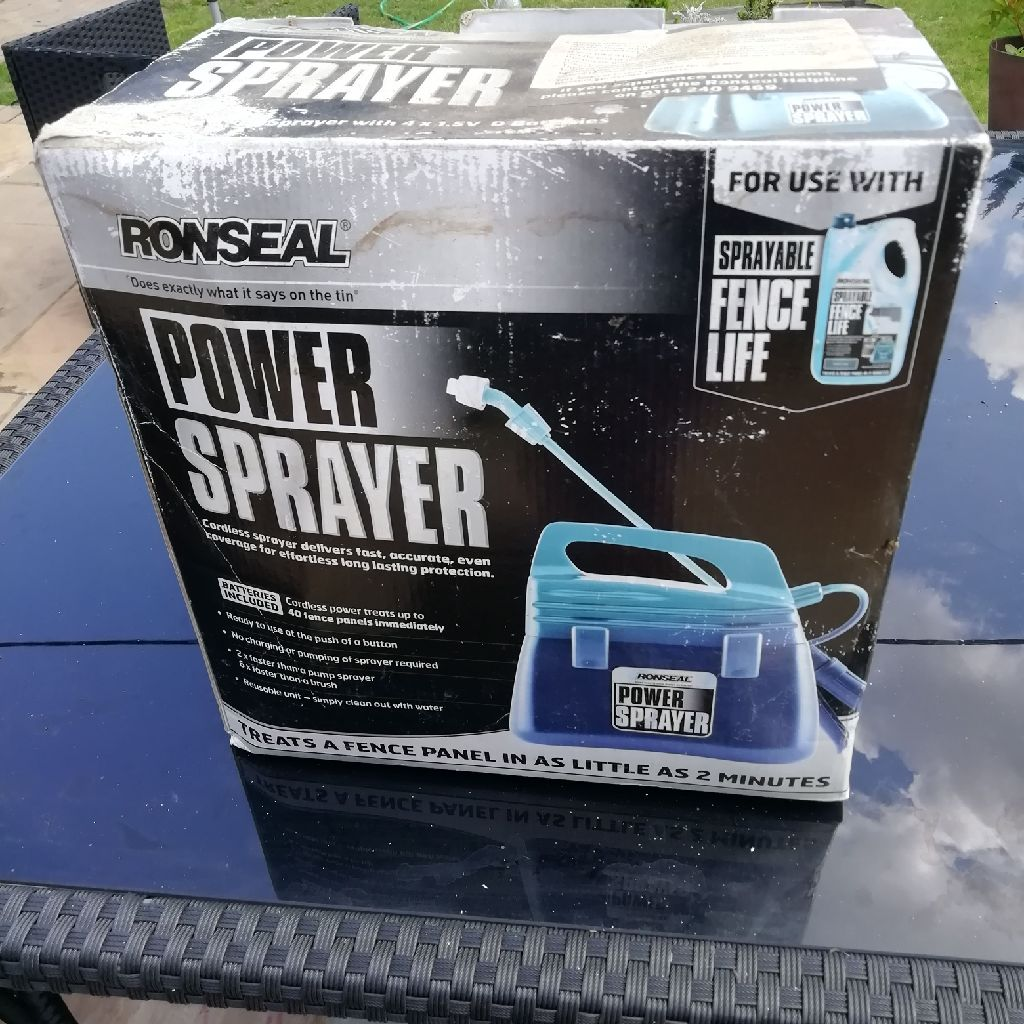 Ronseal paint sprayer