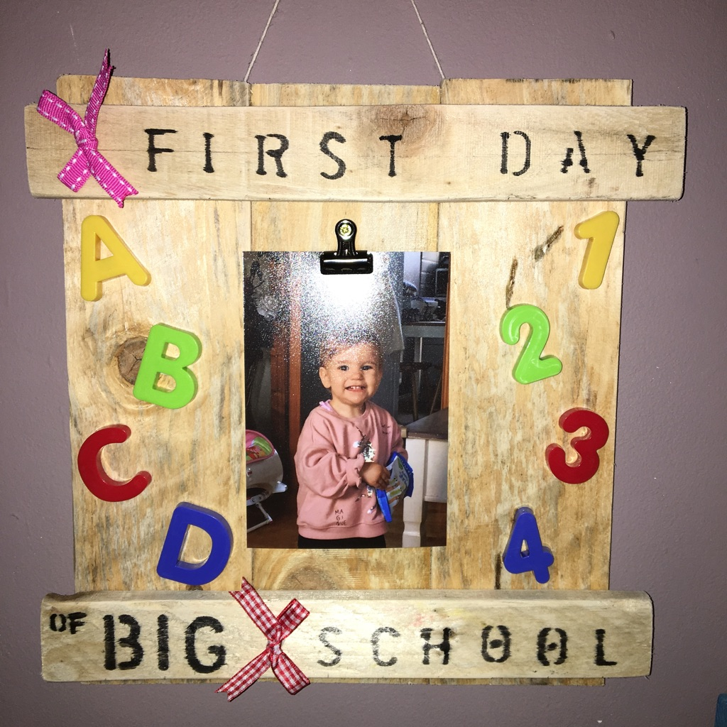 Personalised Pallet Plaque - Home Made