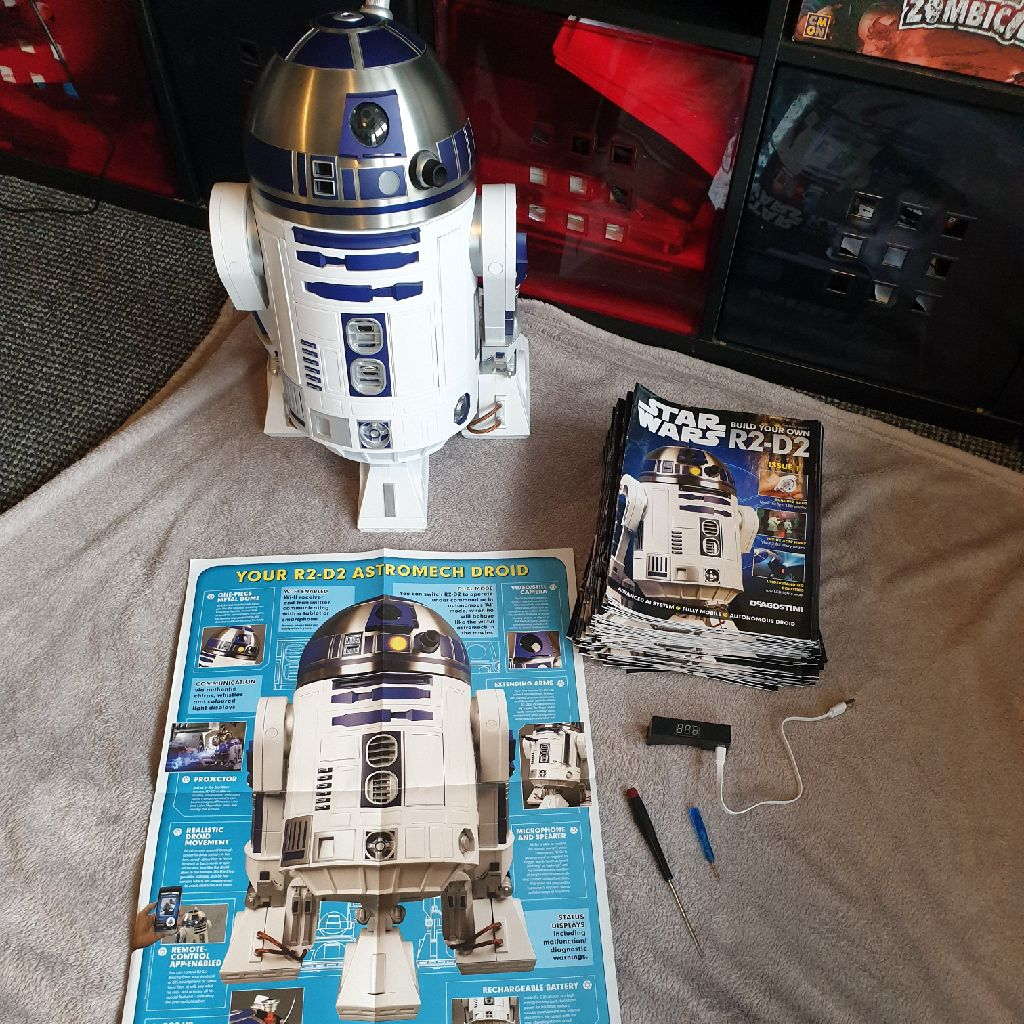 Fully work 'Build your own R2D2'