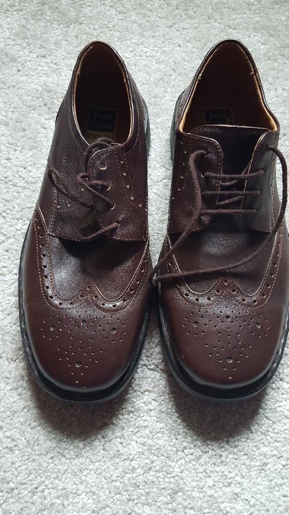 Mens Josef Seibel soft leather Shoe. Size 7