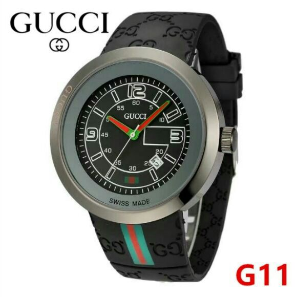 2018 gunmetal black gucci watch
