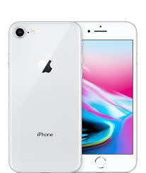 New iphone 8 in silver, 64gb unlocked with warranty
