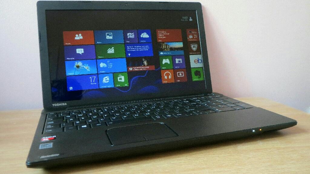 toshiba satellite c50 b laptop / 500gb / 4gb ram /win8 /cash or swaps