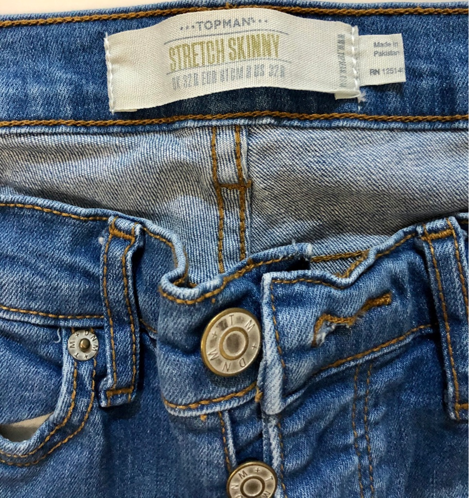 Top man men's jeans