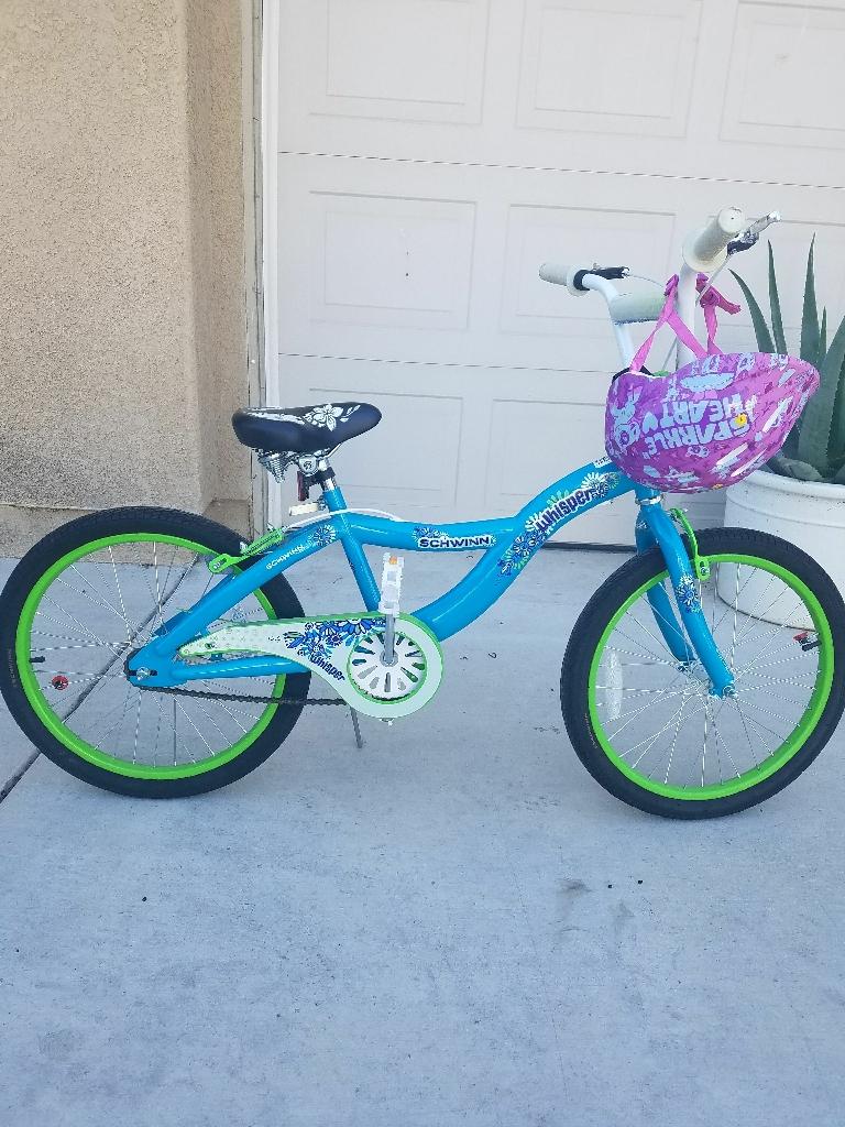 20 inch girl schwinn bike