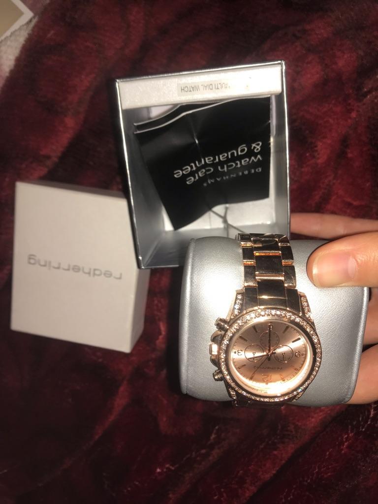 Redherring Women's Rose Gold Watch