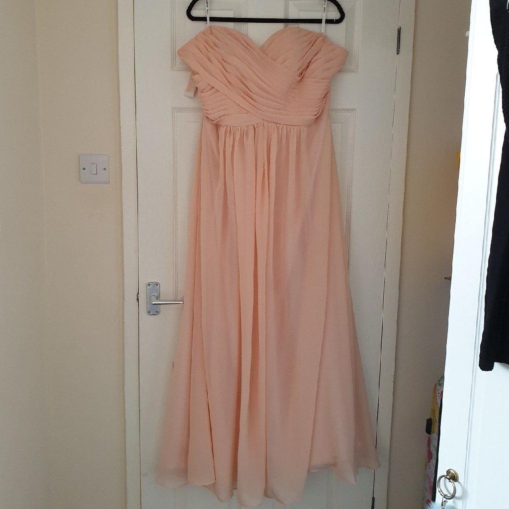 Blush prom dress size 20-22
