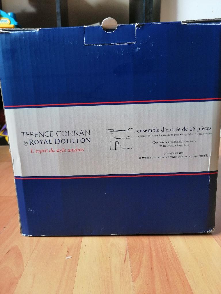Terence Conrad by Royal Dalton 16 Piece set