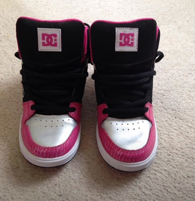 DC Hightops, Size 4, Only Been Worn Once, Paid £85