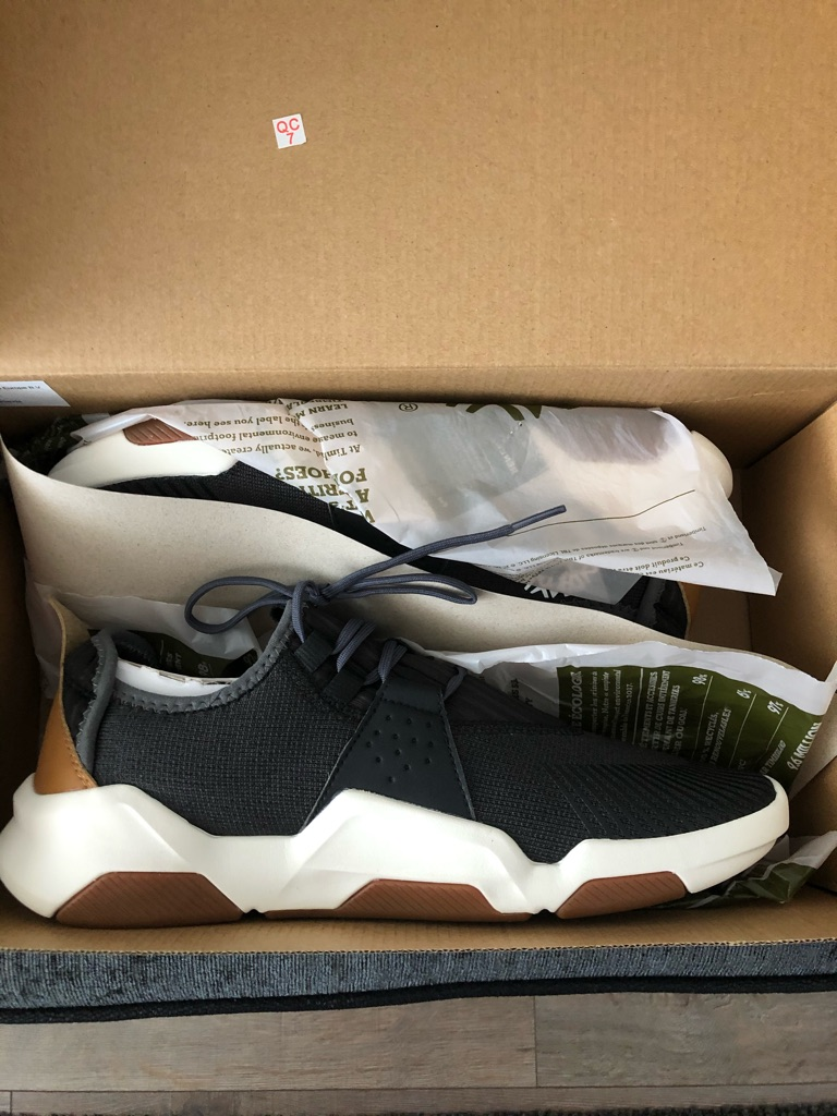 Men's size 9 timberline trainers brands new black
