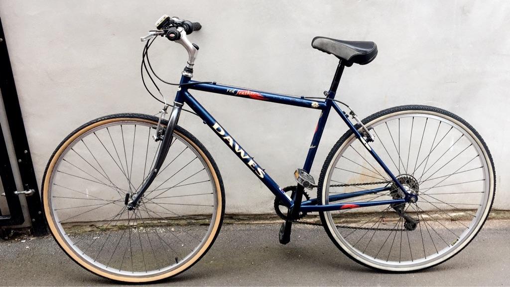 "Dawes Red Feather Hybrid Men's bike 20"""