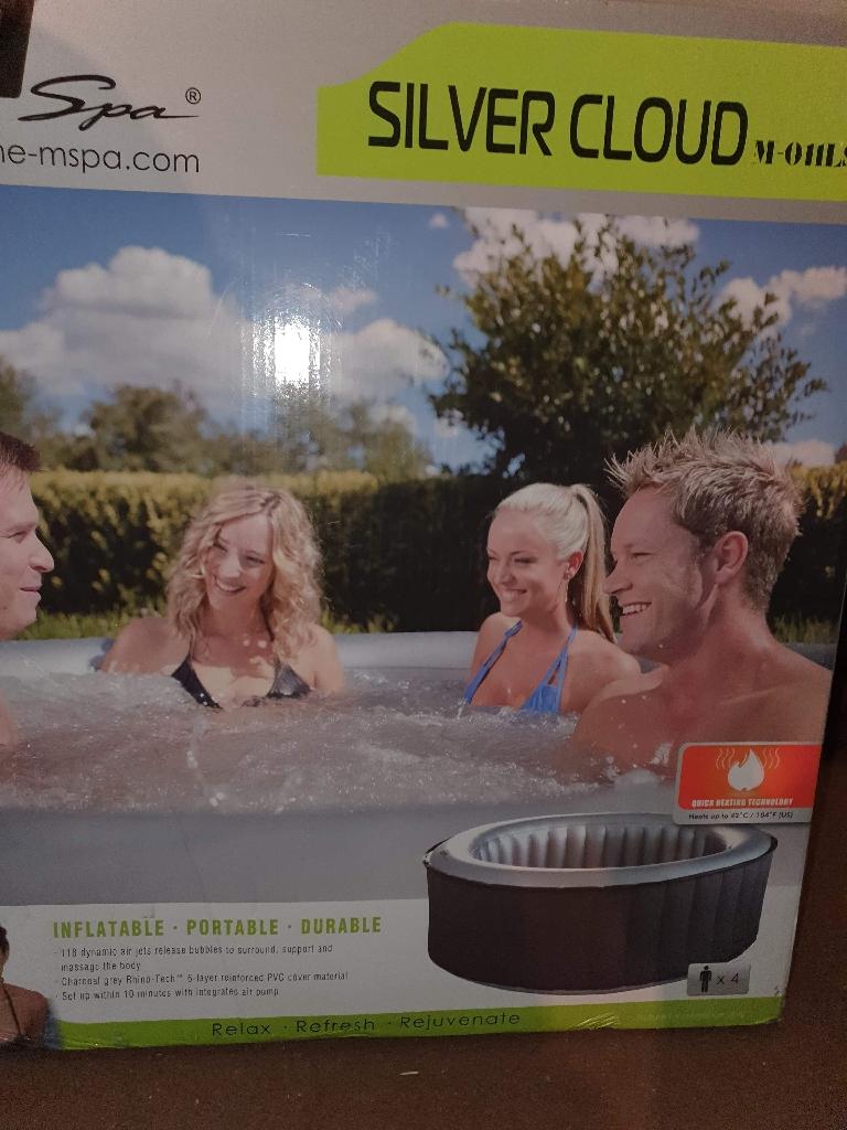 Mspa Silver Cloud Hot tub