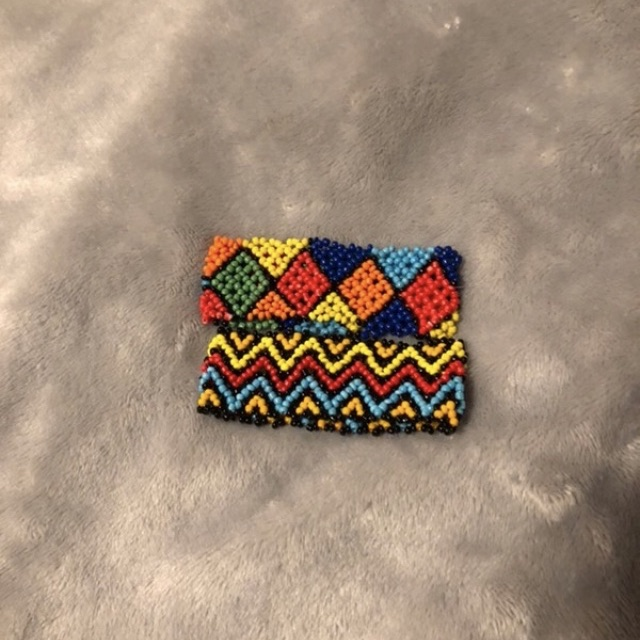 2 Handmade Beads Bracelets